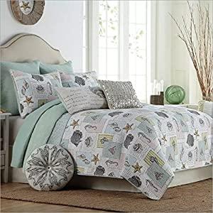 61xdSg3ANaL._SS300_ Seashell Bedding Sets & Comforters & Quilts