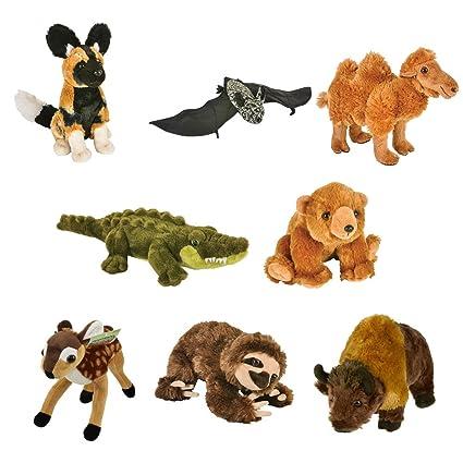 Amazon.com: Rin aventura animal de la felpa Planet den ...