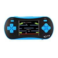 """Mini Handheld Game Console, 260 Classic Retro FC Game Machine PSP with 2.5"""" LCD Portable Video Games - The 80's TV Arcade Gaming Entertainment Great Gift for Children Adults"""