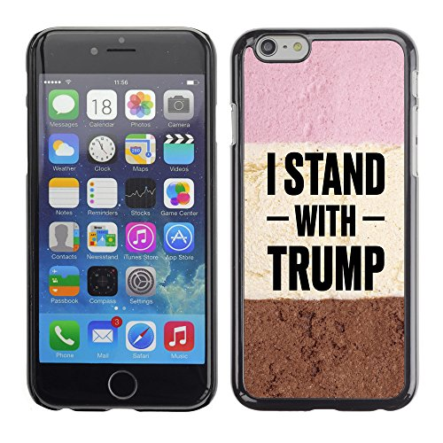 "Print Motif Coque de protection Case Cover // Q04050529 USA Donald Trump chocolat // Apple iPhone 6 6S 6G 4.7"""