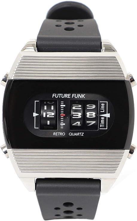 (ビームス)BEAMS/腕時計 FUTURE FUNK FF104 ANA-DEGI ウォッチ(シルバー) メンズ SILVER ONE SIZE