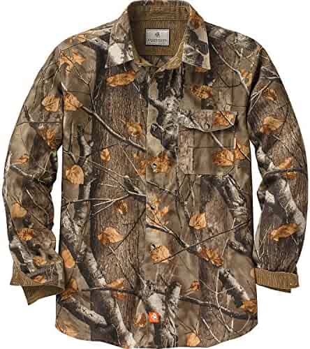 Legendary Whitetails Buck Camp Flannels Big Game Field Camo Small
