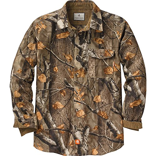 Legendary Whitetails Buck Camp Flannels Big Game Field Camo Large