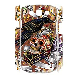 Case Of Artsy Skull Customized Hard Case For Samsung Galaxy S3 I9300