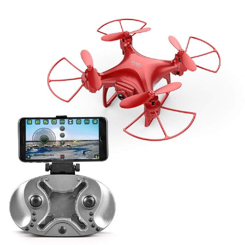 ILYO Mini-Drohne Mit Einer Kameratasche Drohne HD HD-Kamera HD-Kamera HD-Kamera Wide Weitwinkel 3D-Geschwindigkeitsregelung Sprachsteuerung 360 Grad Rollen Vier-Achsen-Flugzeug,ROT 9f9d1a