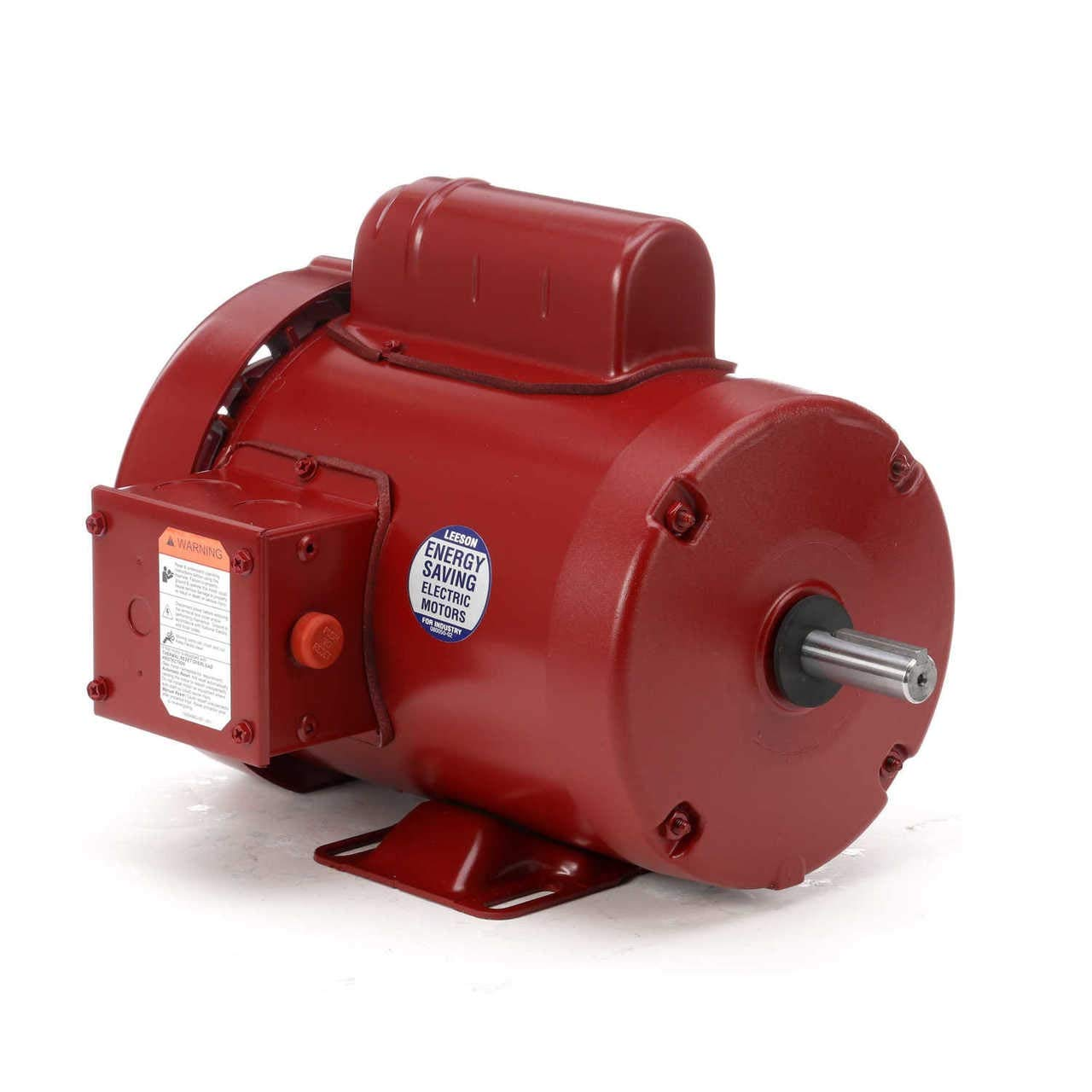 Leeson 110088 AC Single Phase Agricultural Duty Motors