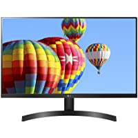 "LG 27MK600M-B 27"" Full HD IPS Monitor with Radeon FreeSync Technology and Virtually Borderless Design"