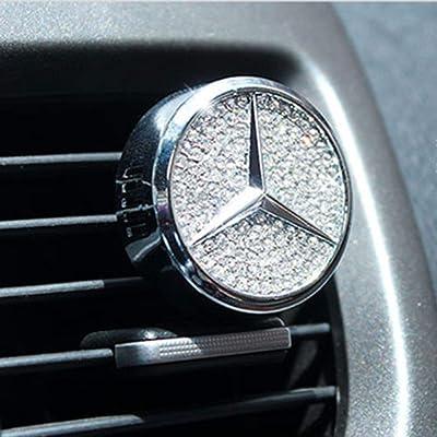 AUDI Mirror Pendant silver rearview ornament emblem logo german car auto