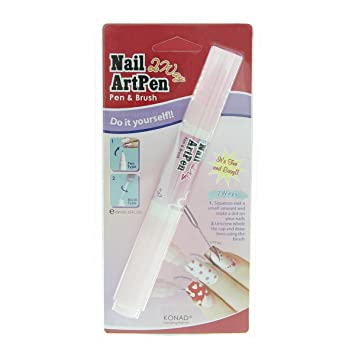 Buy konad 2 way nail art pen white online at low prices in india konad 2 way nail art pen white prinsesfo Image collections