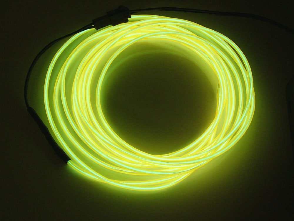 Amazon.com: OOOUSE Neon Glowing Electroluminescent Wire (El Wire ...