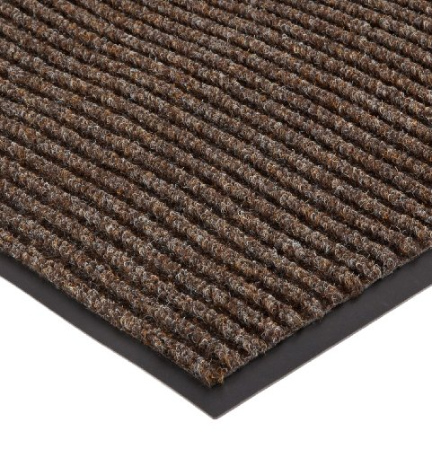 (NoTrax 117S0023BR 117 Heritage Rib Entrance Mat, for Lobbies and Indoor Entranceways, 2' Width x 3' Length x 3/8