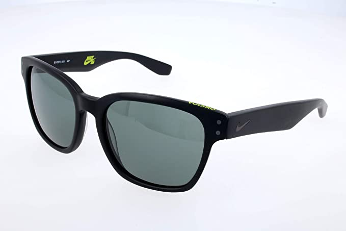 Trascendencia los Artefacto  Nike EV0877-001 Volano Sunglasses (One Size), Matte Black/Gunmetal, Grey  with Silver Flash Lens : Clothing - Amazon.com