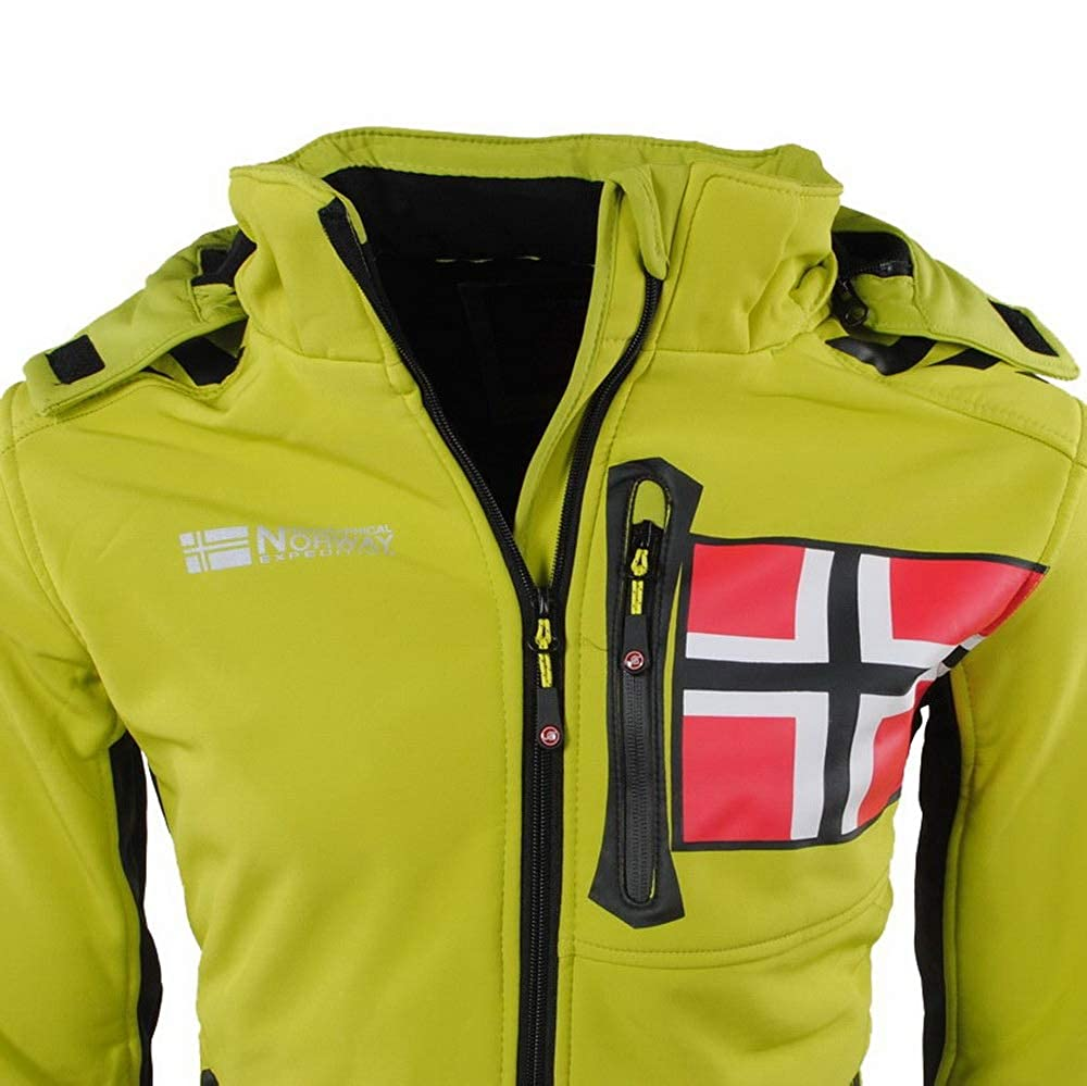 /Softshell Uomo renade Verde Geographical Norway/