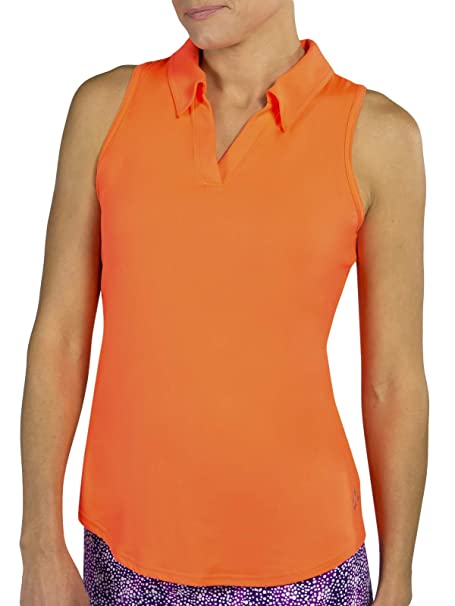 Amazon.com: Tech Cutaway Polo - Flamingo: Clothing
