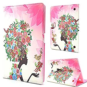 Tab S 10.5 case,Galaxy T800 Case,Galaxy T800 Leather,Samsung Galaxy Tab S 10.5 Inch Leather Case,Candywe Bling Beautiful Print Leather Case Cover For Samsung Galaxy Tab S 10.5 Inches SM-T800 008