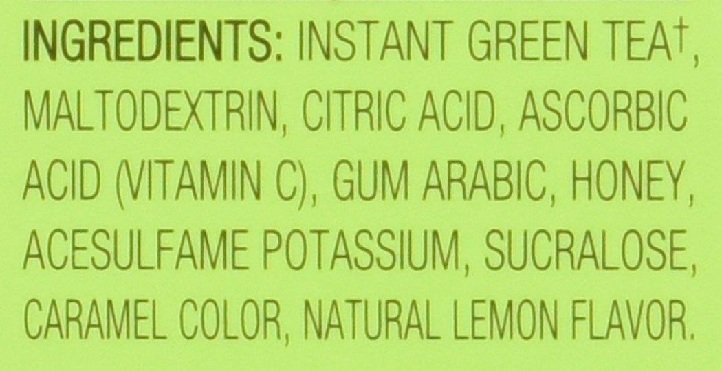4C Iced Tea Stix Totally Light Tea2Go Green Tea Antioxidant with Honey - 6 Pack