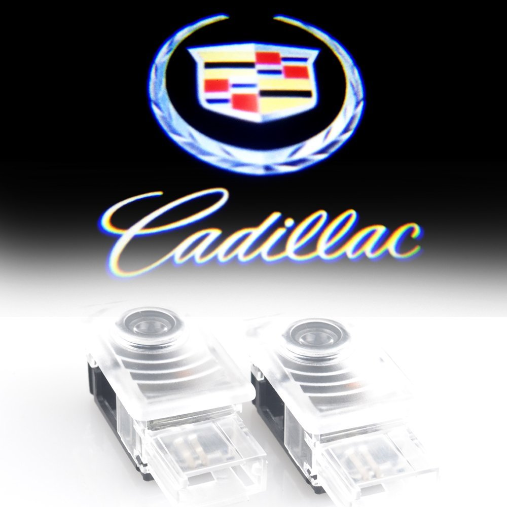 Bailongju Cadillac Easy Installation Car Door Led Logo