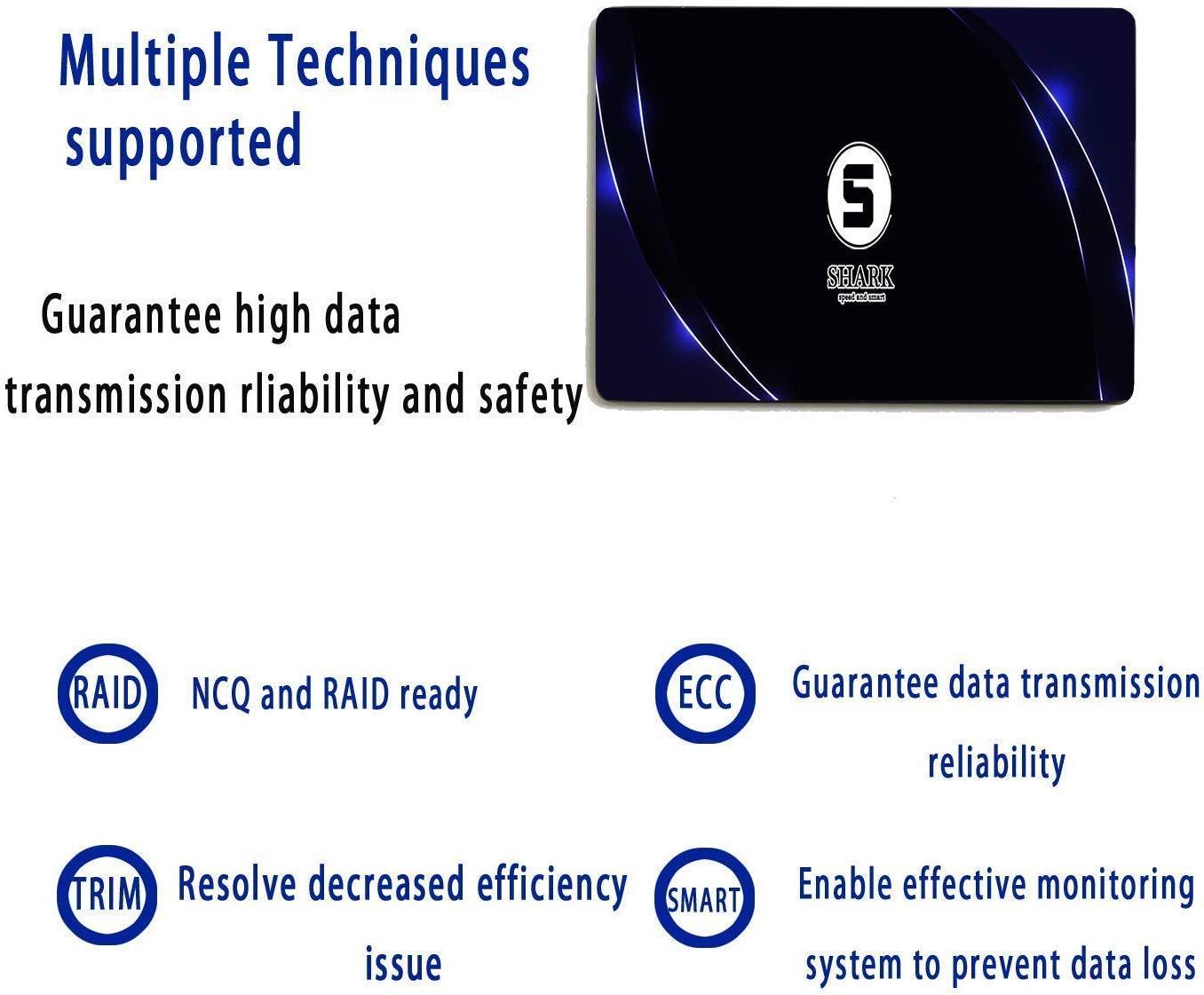 SSD SATA mSATA 250GB Shark Internal Solid State Drive High Performance Hard Drive Desktop Laptop SATA III 6Gb//s Includes SSD 16GB 32GB 60GB 64GB 120GB 128GB 240GB 250GB 480GB 500GB 250GB, MSATA