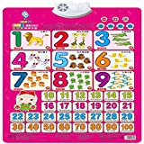 Wall Chart,NACOLA Baby Early Education Audio Digital Learning Chart Preschool Toy, Sound Toys For Kids-Digital 1