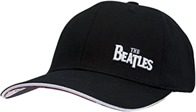 The Beatles - Gorra de béisbol para hombre, color negro: Amazon.es ...