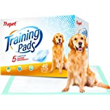 Thxpet Puppy Pads Super Absorbent Leak-proof 40 Count Dog Pee Training Pads 28 x 34 inch