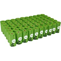 PET N PET Earth-Friendly Dog Waste Bags Poop Bags 1080 Counts Large Green Unscented 60 Rolls Doggie Refill Bags