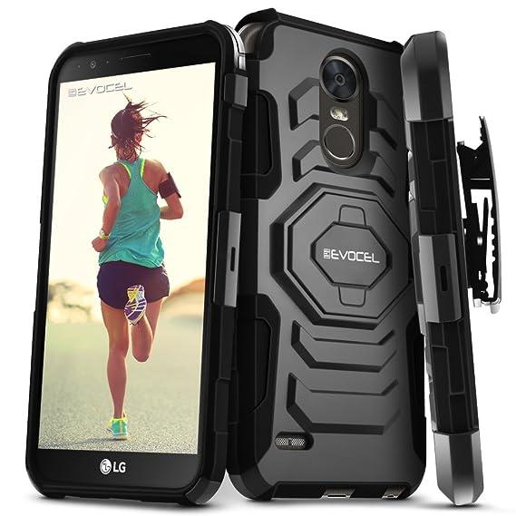 buy online e60c9 ac1de LG Stylo 3 / LG Stylo 3 Plus Case, Evocel [New Generation Series] Belt Clip  Holster, Kickstand, Dual Layer for LG G Stylo 3 (LS777) / LG G Stylo 3 ...