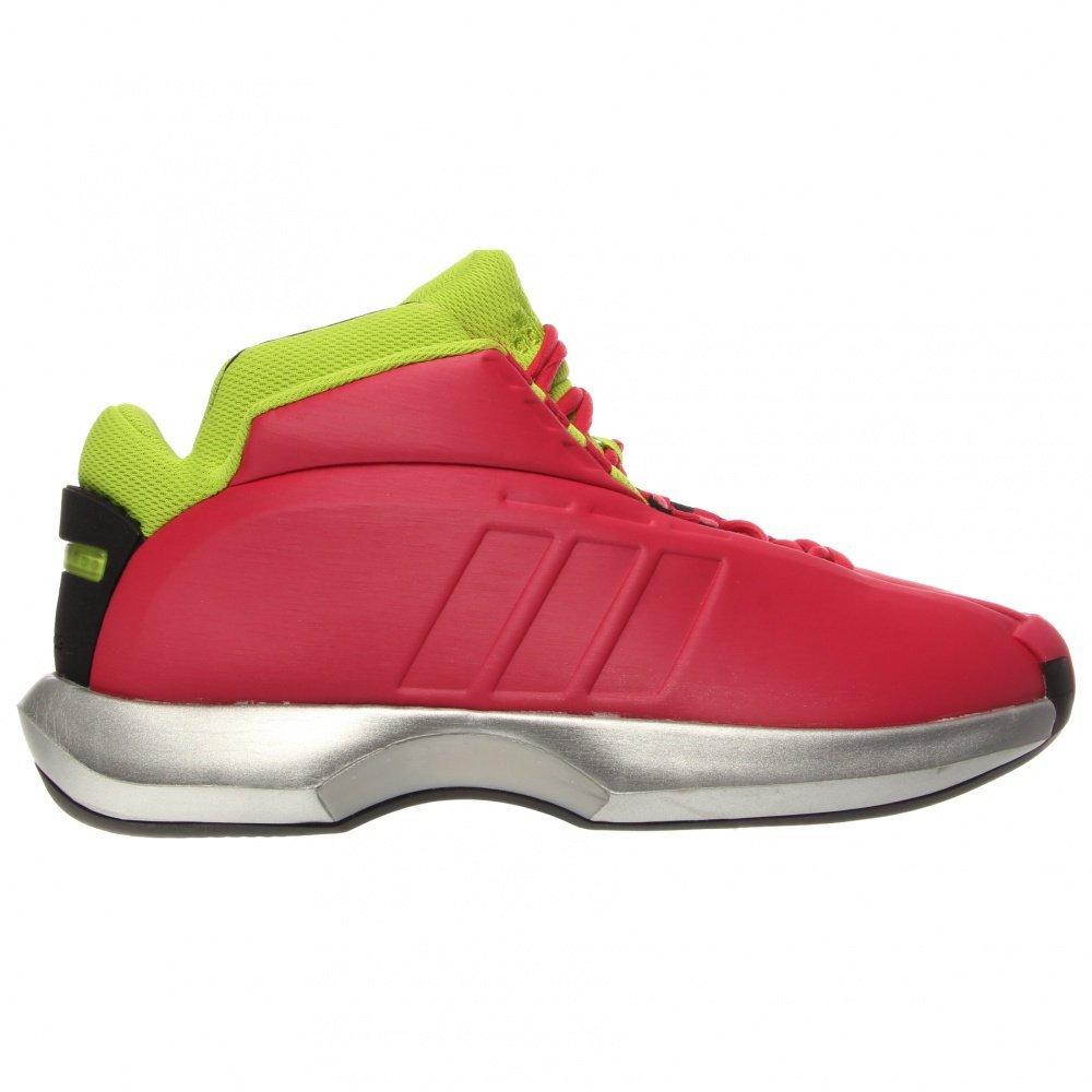 hot sale online 29a4b 802a6 Galleon - Adidas Mens G98370 Crazy I Athletic Shoes, Vivid BerryBlack, 10
