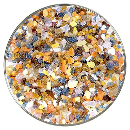 Moroccan Designer Fusible Glass Coarse Frit Mix – 4oz – 90COE – Made From Bullseye Glass