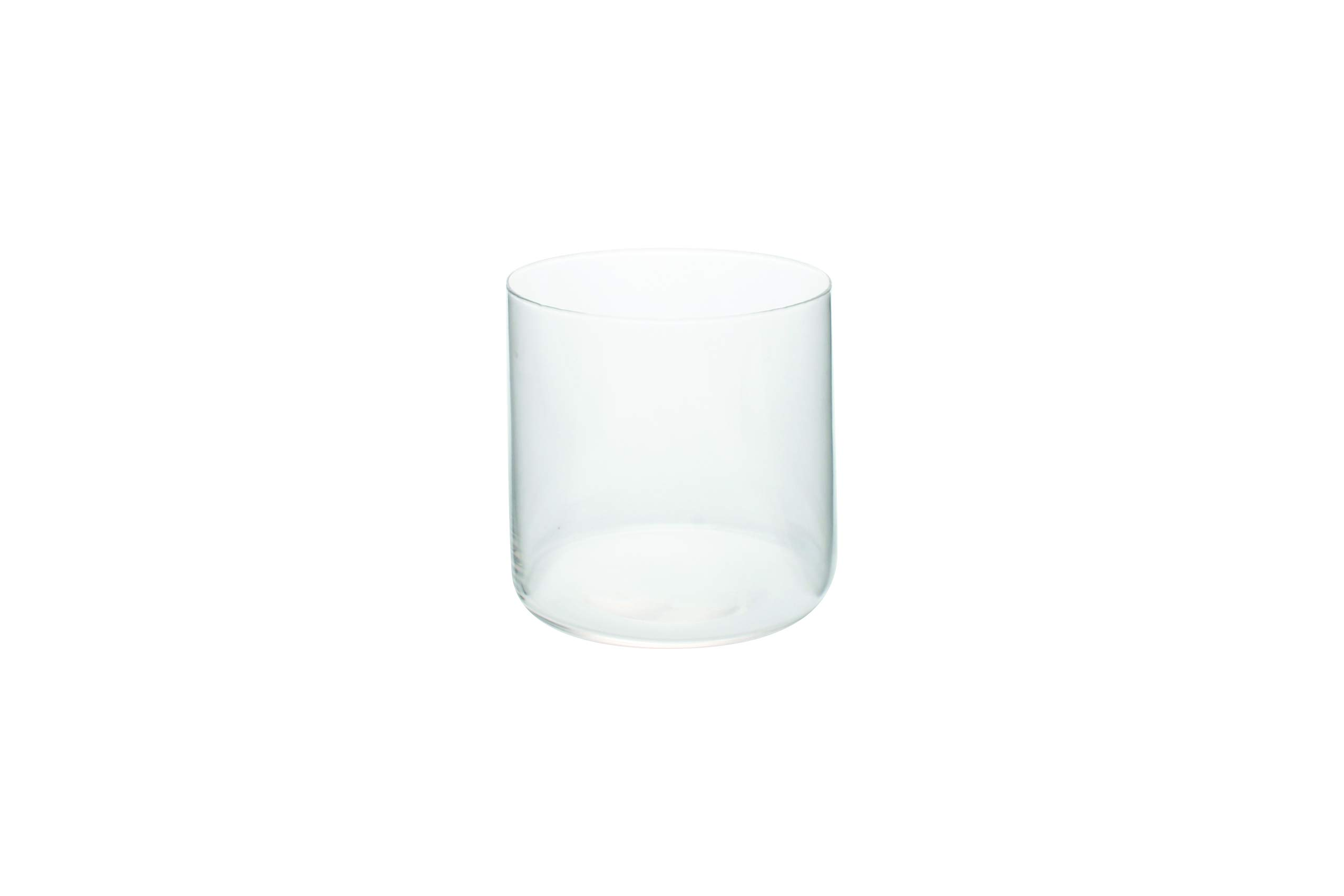 Canvas Home Ltd G141-TBLG-CL Canvas Home Helena Glass Tumbler, Large, Clear-Pack of 4