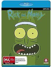 Rick And Morty Season 3 (Blu-ray)