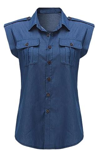 Vian Lundgaard - Camisas - Manga corta - para mujer