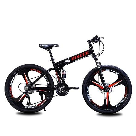 Bicicleta de montaña Plegable, Bastidor de Acero de 24