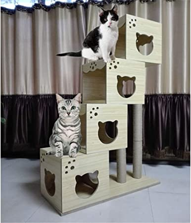 Gato juega torre del árbol, Gato trepador for gatos Arena for gatos Muebles for gatos Tipo