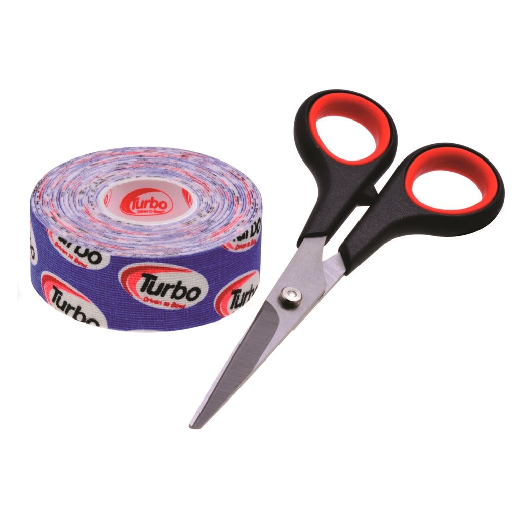 Turbo Driven to Bowl 1 Inch Roll Fitting Tape- Blue by Turbo Bowling Grips