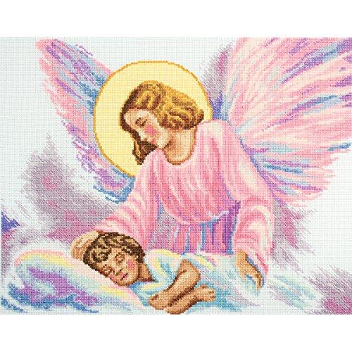 Guardian Angel Counted Cross Stitch Kit-13