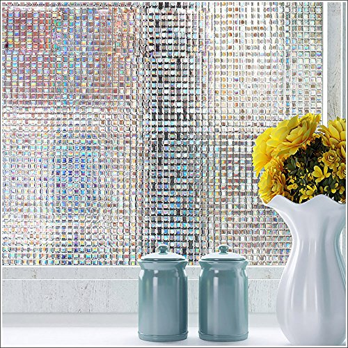 Cheap  Decorative Window Film Mosaic Window Covering Heat Control Privacy Film Obscure Glass..