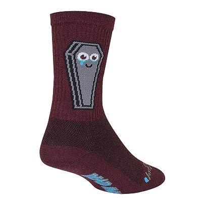 Amazon.com : SockGuy Misfit 6in Wool Crew Cycling Sock - WCRMISFIT : Sports & Outdoors