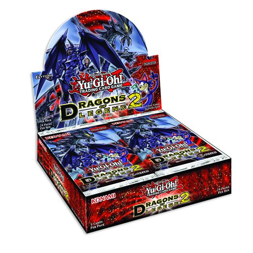 Yu-Gi-Oh Dragons Of Legend 2 Booster Display (Pack Of 24) by Konami