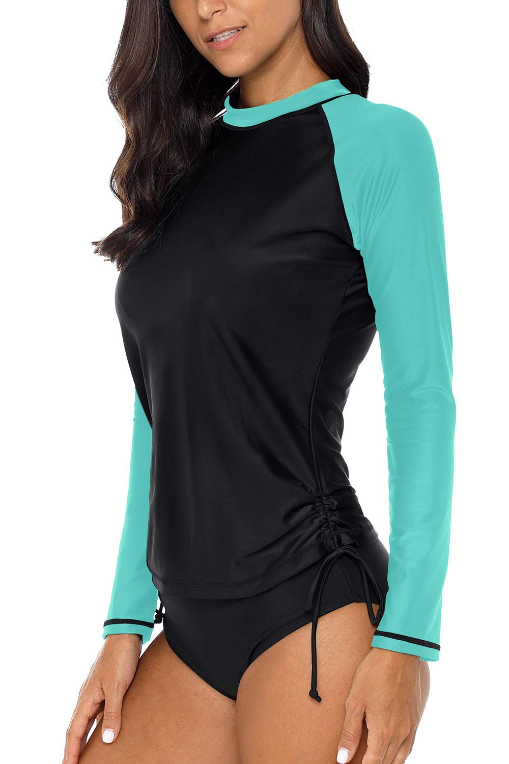 CharmLeaks Long Sleeve Rashguard SPF Shirts for