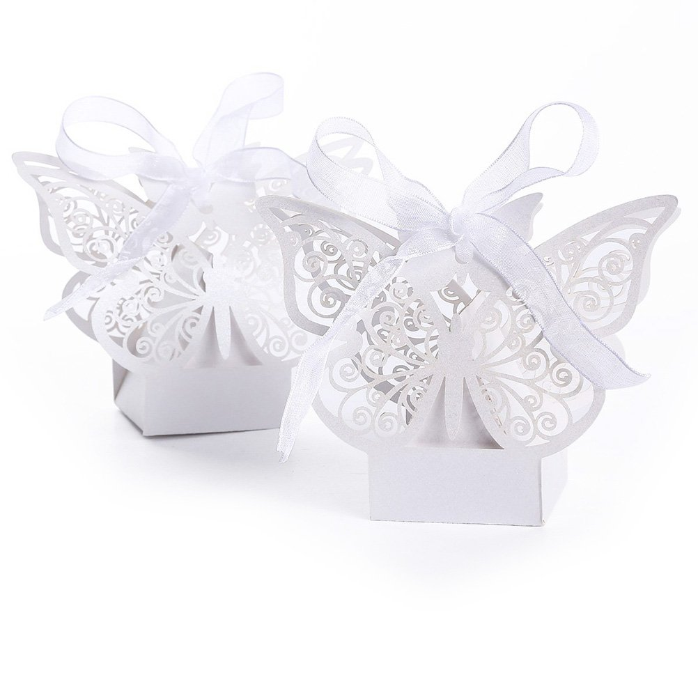 Tinksky Creative Big Butterfly Wedding Candy Boxes Gift Favor Sweet ...