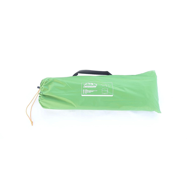 大きいサイズ防水Hammock Rain FlyテントタープキャンプFootprintシェルターサンシェードビーチピクニックマット B0772PQB72  グラスグリーン