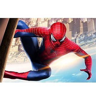 Puzzle ⏰ Marvel Superhero Movie Poster, Jigsaw Legno Spiderman Mural, Basswood Perfect Cut & Fit, 300/1000 Pezzi Giocattoli per Fotografia in Scatola Gioco Art Painting per Adulti e Bambini PT418