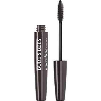Burts Bees 100% Natural Nourishing Mascara, Black Brown, ...