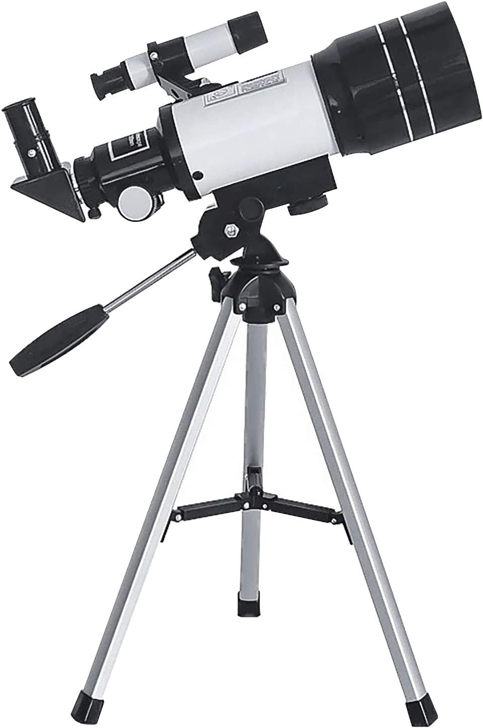 Telescopes for Adults Astronomy Professional, 70mm Aperture Telescope with Tripod, Astronomical Refracting Telescope Gifts for Astronomy Beginners, Travel Telescope with 2 Magnification Eyepieces