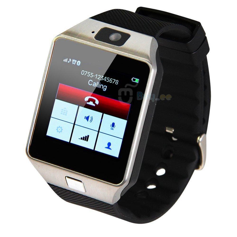 Zomtop DZ09 Bluetooth del reloj del reloj inteligente con cámara de sincronización para Android IOS Móvil Samsung S5 / Nota 2/3/4, Nexus 6, HTC, Sony, ...