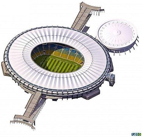 Modelo de Estadio Deportivo en 3D, Pelota brasileña Estadio de ...