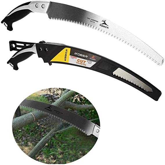 Practical Portable Hand Curved Landscape Gardening Orchard Cutting Tool Effacer 330mm Pruning Saw
