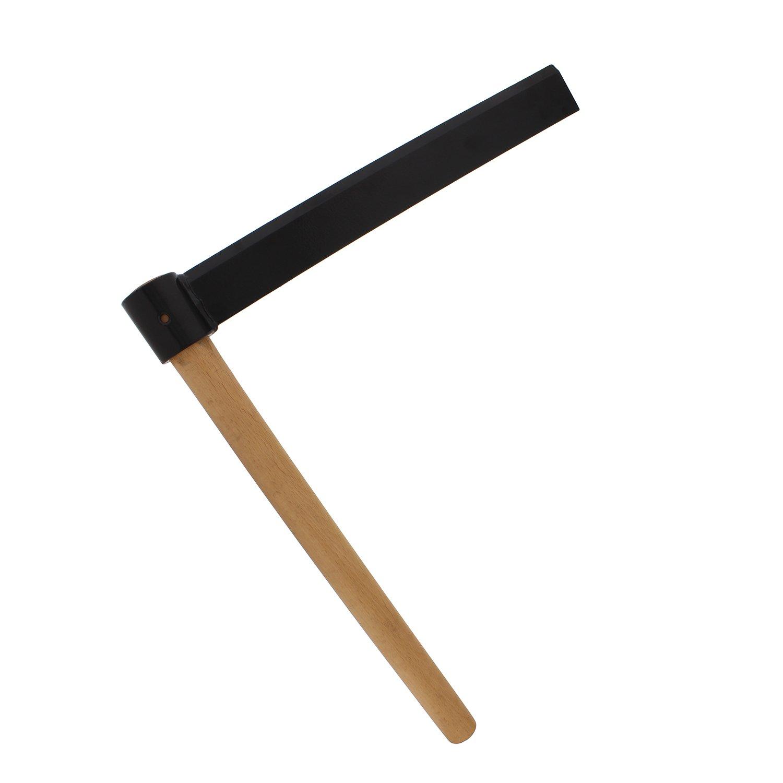 "Shingle Froe Tool, 15"" Inch Splitting Froe Blade with 18"" Froe Knife Handle – Froe Axe, Kindling Axe, Wood Froe Tool"