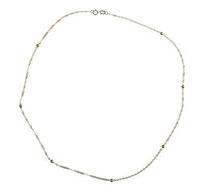 Adara 9 ct Yellow Gold Curb Chain of Length 40.64 cm VIr3hCMwMS